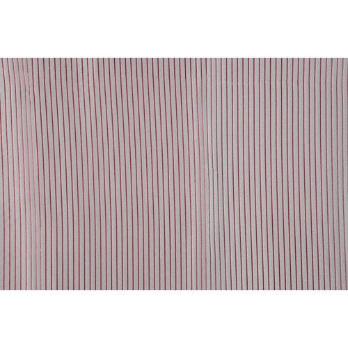 Tela en bobina roja jacquard ancho 290cm