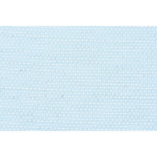 Tela en bobina azul algodón y poliéster ancho 280cm