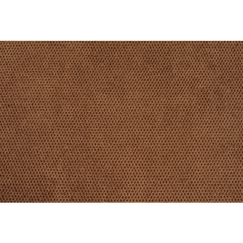 Tela en bobina marrón poliéster ancho 140cm