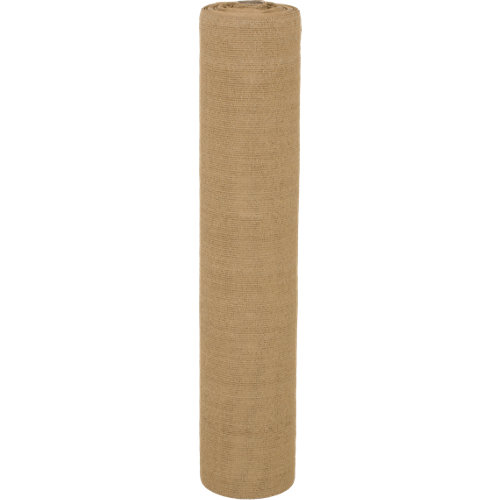 Malla de ocultación de polietileno de alta densidad 1x50 m caña