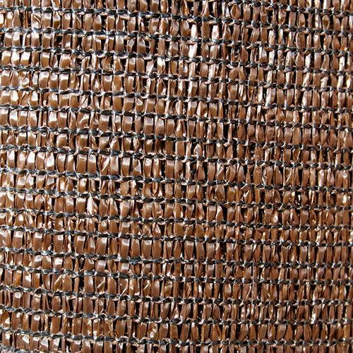 Malla de sombreo y ocultación de polietileno de alta densidad 2x50 m