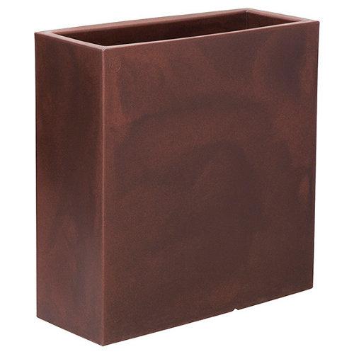 Maceta de polietileno newgarden marrón 80x80 cm