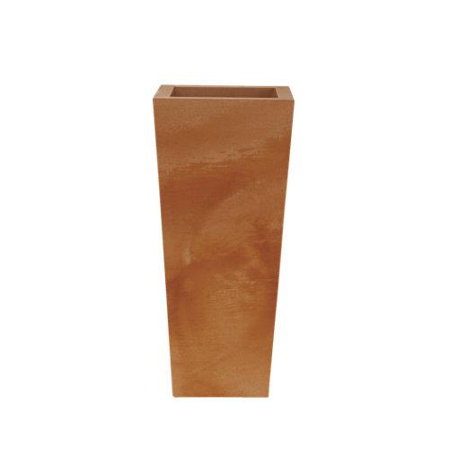 Maceta de polietileno melisa terracota 40x90 cm