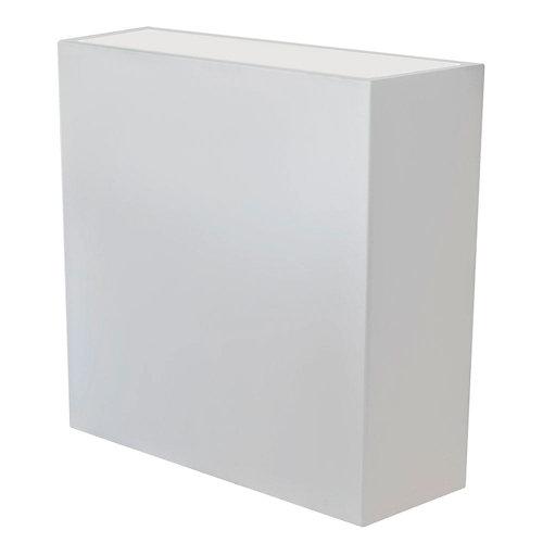Maceta de polietileno de alta densidad newgarden blanco 80x80 cm