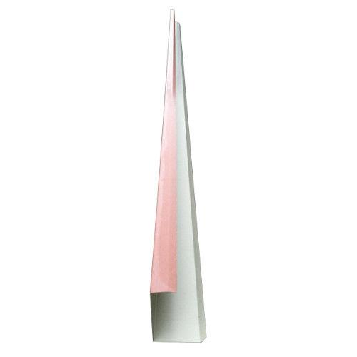 Tapa lateral imitación teja rojo 8x300 cm