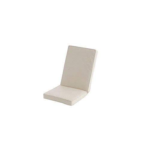 Cojín de exterior silla naterial natura crudo