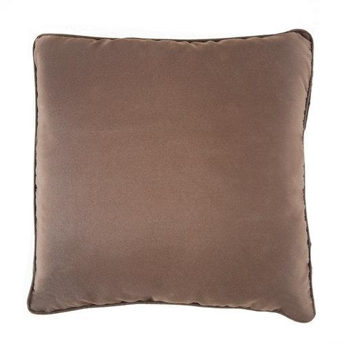 Cojín exterior deco 45x45 cm naterial matilda choco