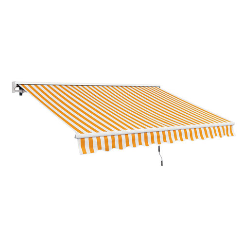 Comprar Estructura toldo motorizado para terraza con semi cofre de 400x250 cm
