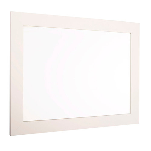 Espejo de baño roma blanco 60 x 80 cm
