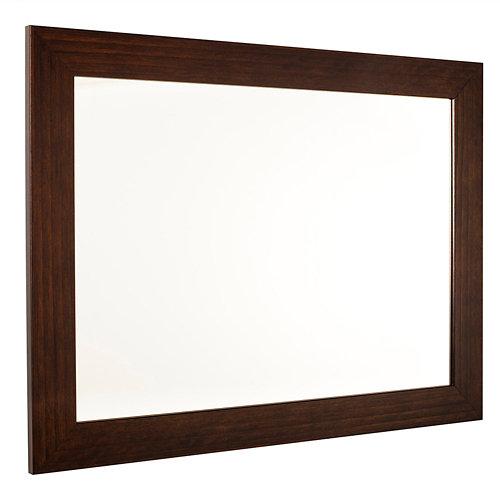 Espejo de baño roma negro 60 x 80 cm
