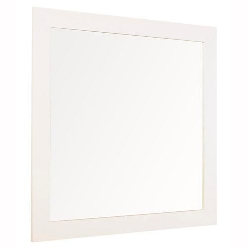 Espejo de baño roma blanco 90 x 80 cm