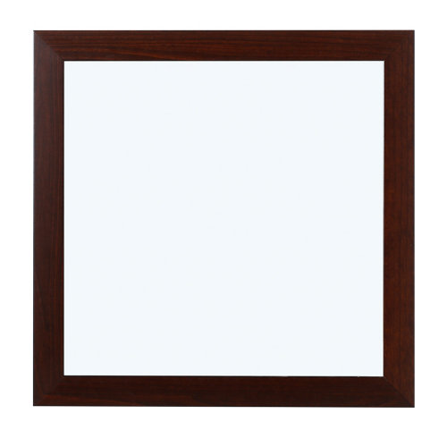 Espejo de baño roma negro 100 x 80 cm