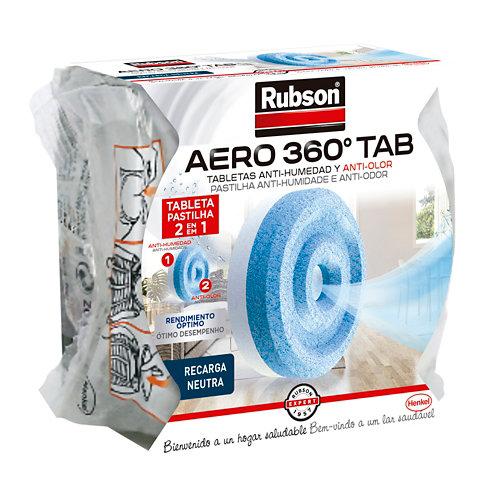Tableta recambio humedad neutro aero 360º rubson 450 gr