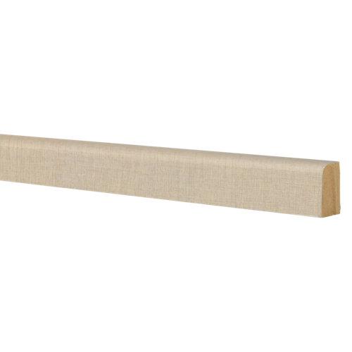 Liston de mdf melamina lino 25x15 mm x 2,43 m (ancho x grueso x largo)