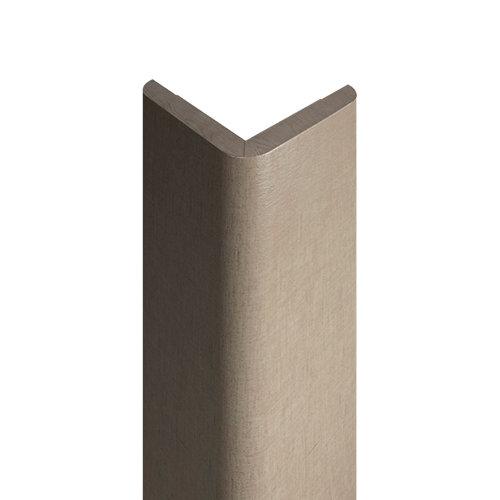 Guardavivo de mdf melamina lino 30x30 mm x 2,43 m (ancho x grueso x largo)