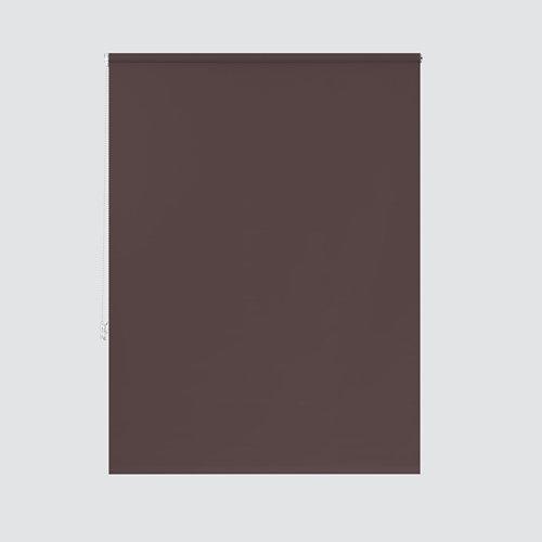 Estor enrollable opaco nash marrón de 104x190cm