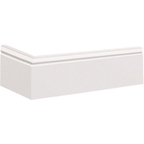 Rodapié liso fl1 8x200x1,2 cm
