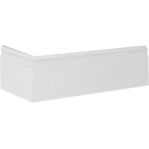 Zócalo liso poliestireno blanco flex 8x200x1,2 cm
