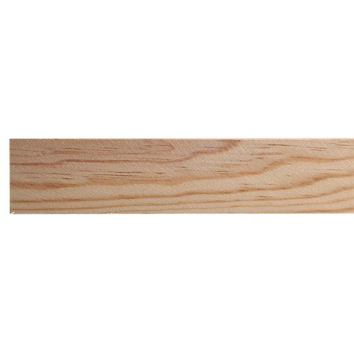Listón de abeto cepillado 9x38mm x 2.4m (ancho x espesor x largo)