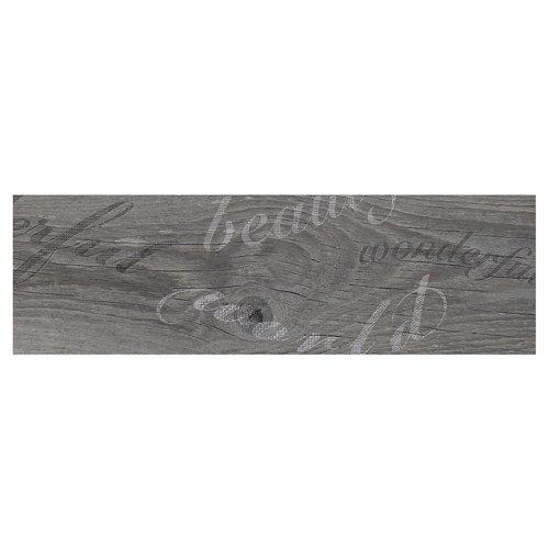 Pavimento porcelánico melbourne 20,2x66,2 decorado-gris c1 artens