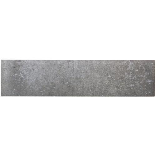 Rodapié recto gris 33.15 cm de largo