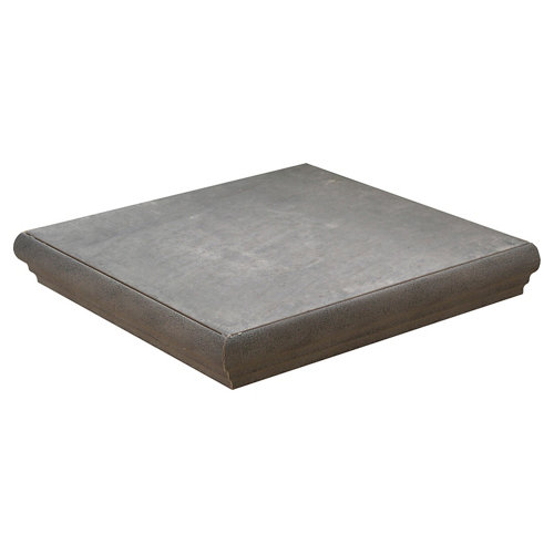Esquina pecho paloma gres cerámico gris de 33.15 x 33.15 cm
