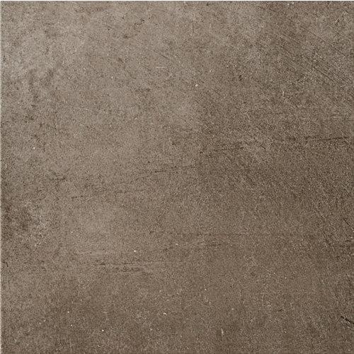 Suelo cerámico porcelánico de 45x45 cm en color marrón