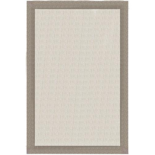 Alfombra teplón natural/oro pvc 70 x 120cm