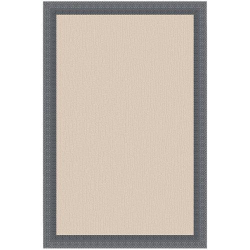 Alfombra gris pvc 70 x 120cm