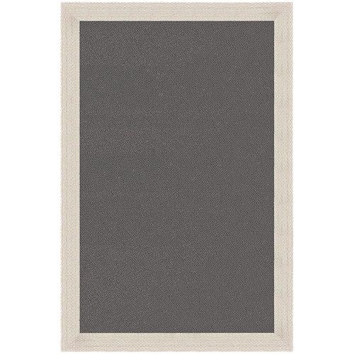 Alfombra marrón pvc 100 x 150cm