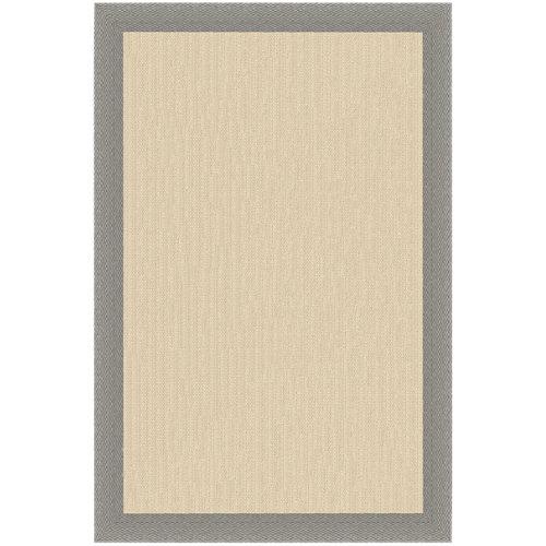 Alfombra teplón natural/ceniza pvc 100 x 150cm