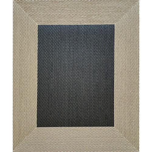 Alfombra negra pvc 120 x 120cm