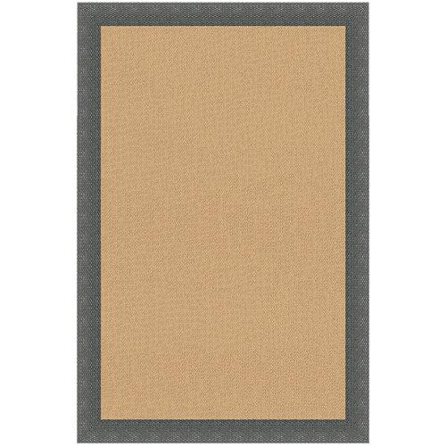 Alfombra teplón oro/antracita pvc 120 x 120cm