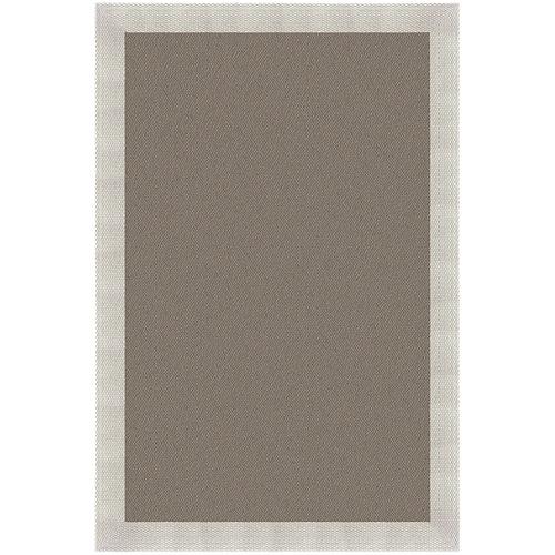 Alfombra teplón oro/natural pvc 120 x 120cm