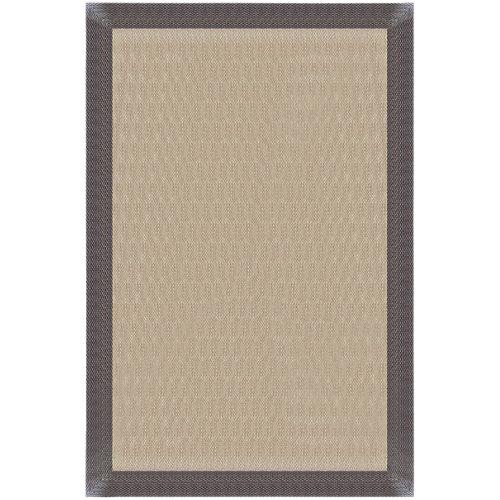 """""""Alfombra Teplom para exterior fabricada en PVC de colores amarillo dorado y bronce. Medidas: 140 x 200 cm (ancho x largo). Ideal para decorar cualquier zona de la casa con paso frecuente."""