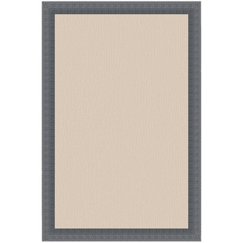 Alfombra gris pvc 140 x 200cm