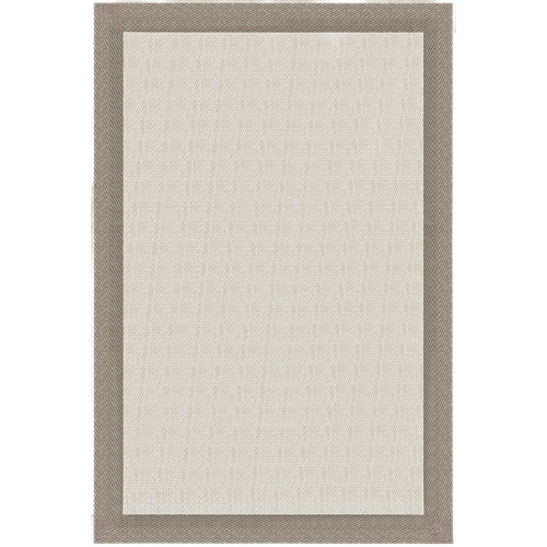 Alfombra teplón natural/oro pvc 160 x 230cm
