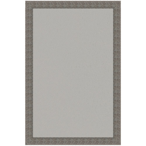 Alfombra gris pvc 160 x 230cm