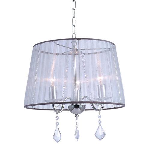 Lámpara de techo twin beige 3 luces