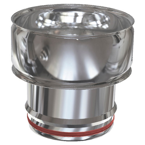 Adaptador de acero inoxidable de 150 de diámetro