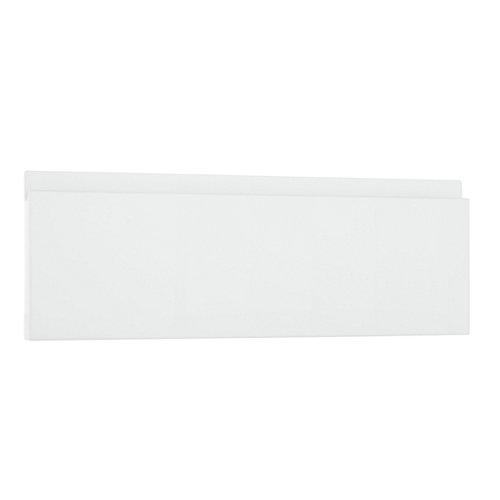 Frente módulo cocina delinia tokyo blanco brillo 40x14 cm