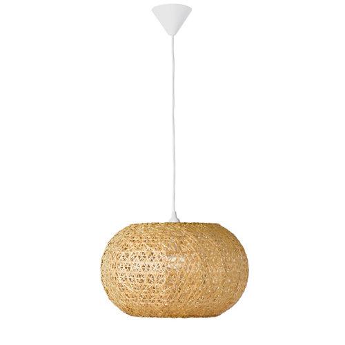 Lámpara de techo inspire utaka bambú