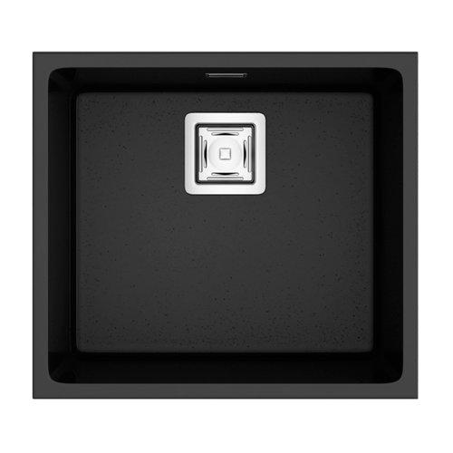 Fregadero de resina rectangular poalgi zie 60x50cm