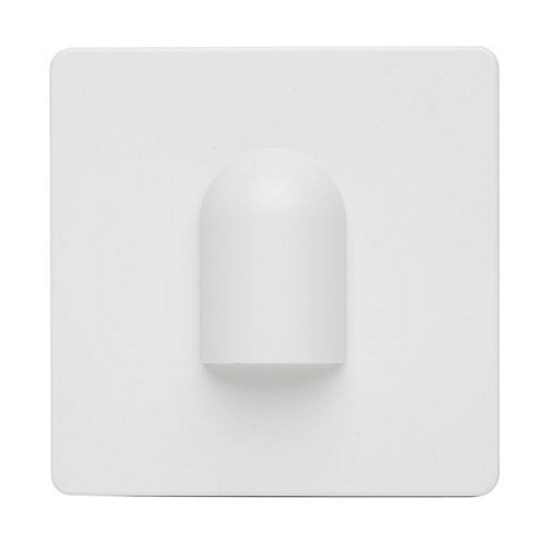 Tapa de salida para cable lexman color blanco