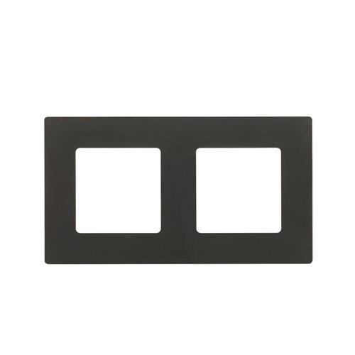 Marco doble lexman color negro