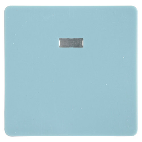 Tecla de interruptor con luz lexman color azul báltico