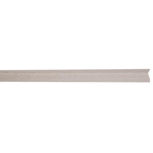 Guardavivo de pvc roble polar adhesivo 25x25mm x 2,60m (anchoxgruesoxlargo)