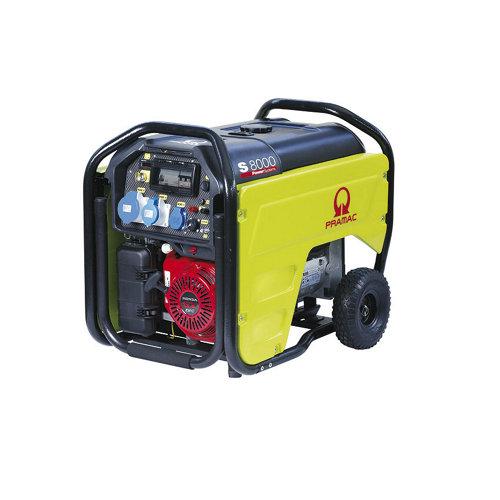 Generador pramac s8000 gasolina sin plomo de 5500 w