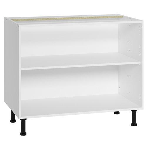 Mueble bajo fregadero delinia blanco 100 x 70 cm (ancho x alto)
