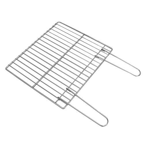 Parrilla de acero 41x3x46.5 cm